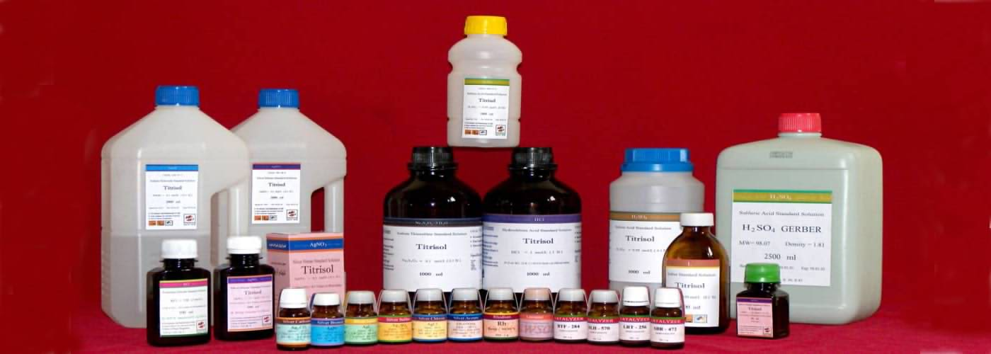 تولیدات پارسان مرک(تیترازول_اسیدسولفریک_انواع ترکیبات نقره_کاتالیزور)